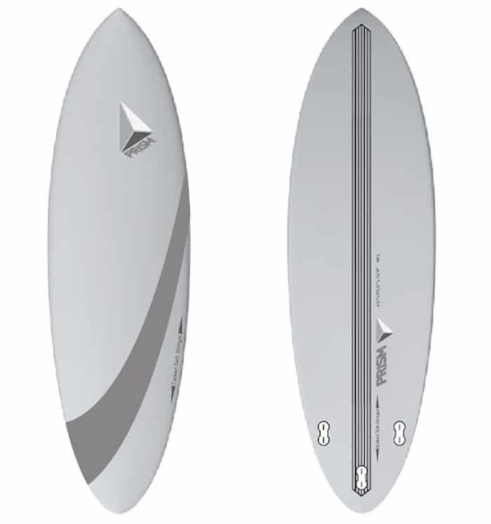 Planche surf epoxy carbone hybride
